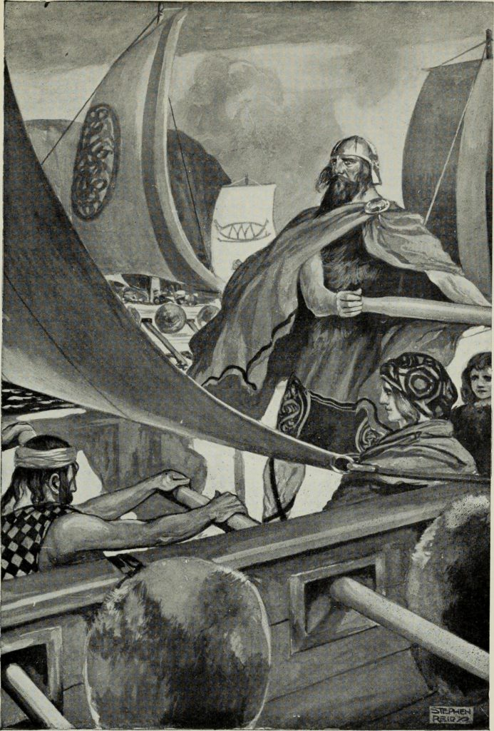Arrival of Milesians in Ireland