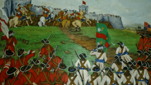 James II arrives in Ireland