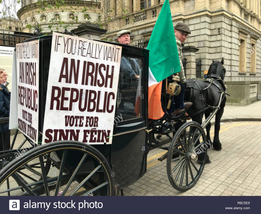 Gana elecciones Sinn Fein