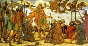 Vikings north of the Peninsula