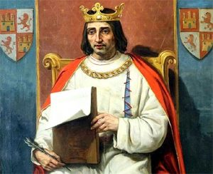 King Alfonso X Born