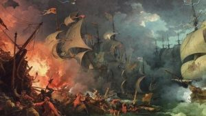 The Grand Armada suffers storms