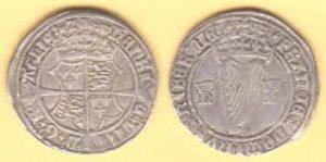 Henry VIII King of England and Ireland