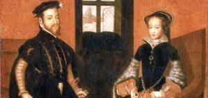 Prince Felipe marries Mary I