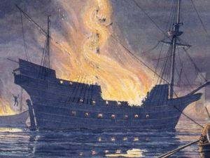 Francis Drake sacks Cadiz