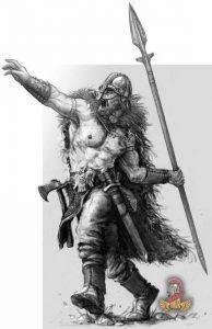 Viking in Dublin