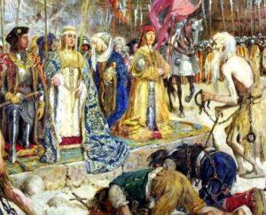 Reyes Católicos entran Málaga