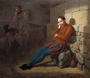 Cervantes taken Prisoner