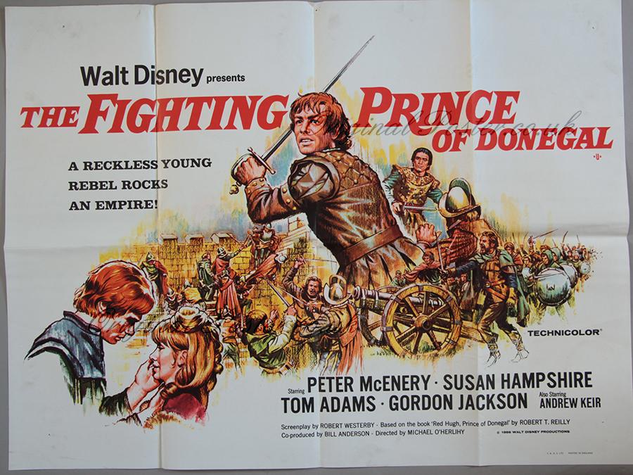 Waltz Disney lanza «el Príncipe de Donegal»
