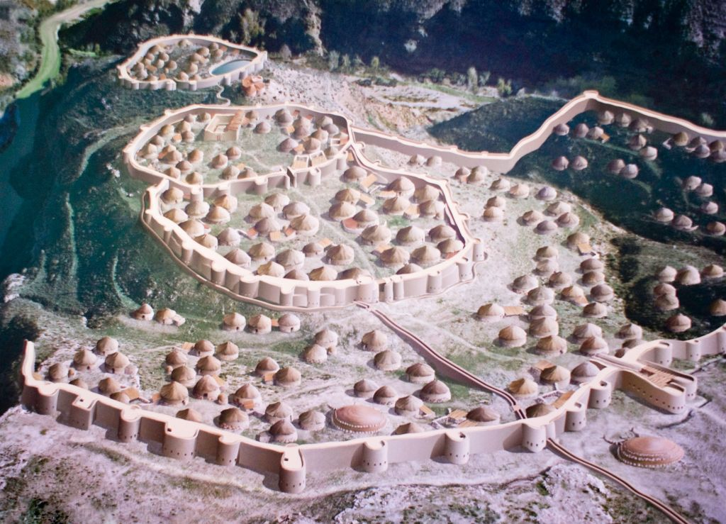 "Los Millares ""city"", first big settlement in Iberia"