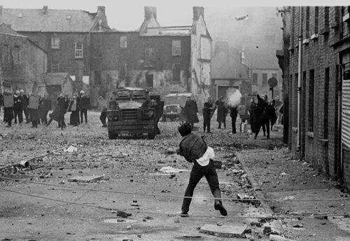 Batalla del Bogside en Derry