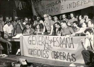 Nace los sindicatos CC.OO y USO