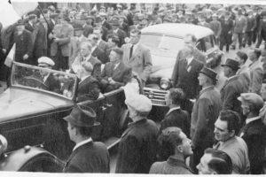 Eamon de Valera 1ª visita a Derry