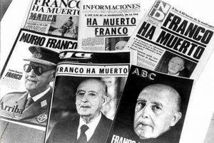 Muere Franco comienza el cambio de régimen