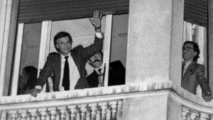 Primer gobierno socialista de la Democracia