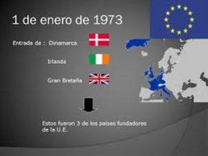 Irlanda entra en la CEE