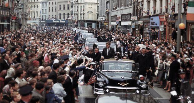 JFK visita Dublín