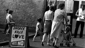 Referendum Irlanda contra Divorcio