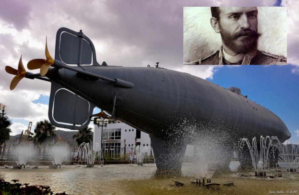 Isaac Peral primer Submarino